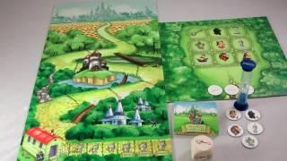 Волшебник Изумрудного города - настольная игра для детей