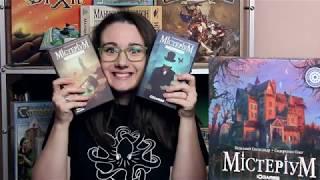 Відео-огляд настільної гри  Містеріум   Мистериум